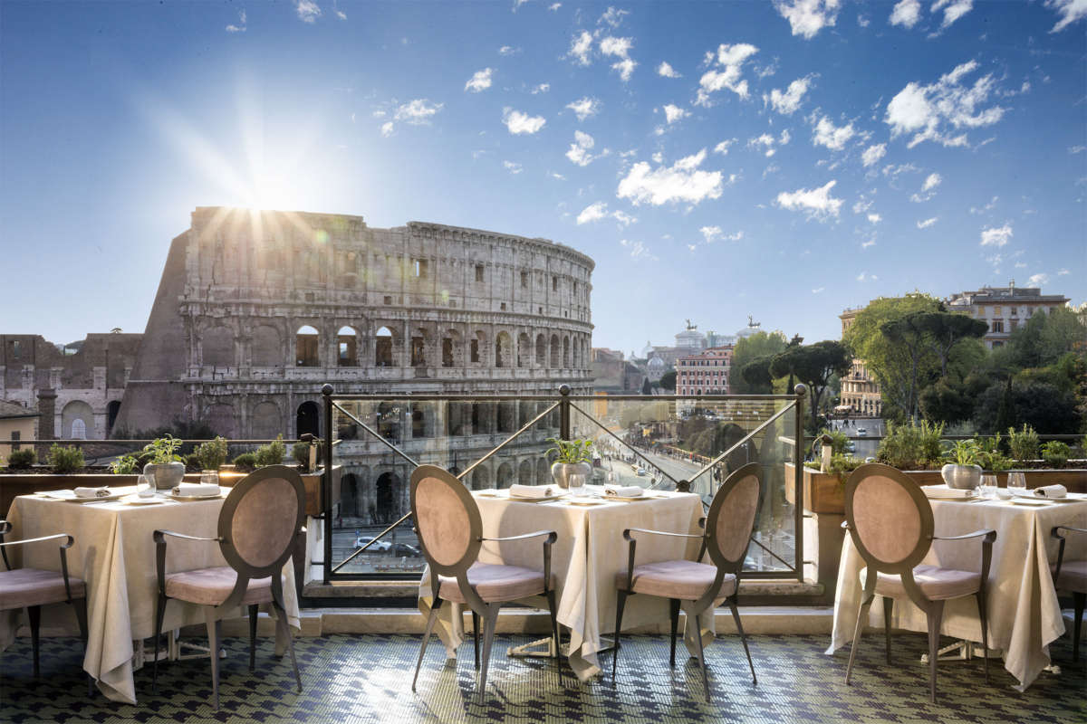 6 of the Best Rooftop Restaurants in Rome