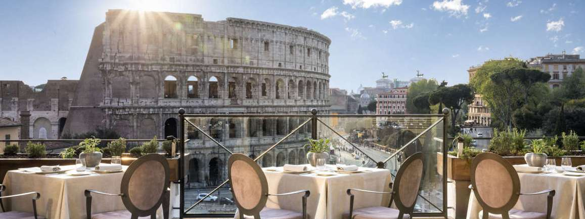 Best Rooftop Restaurants In Rome