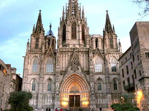 Barcelona old town walking tour