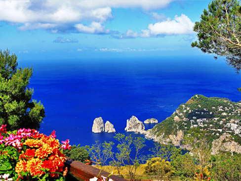 Day trip to Capri and Sorrento