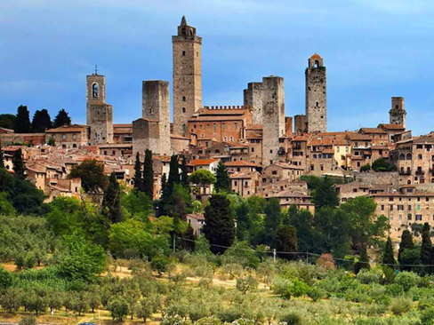 Day Trip to Siena & San Gimignano