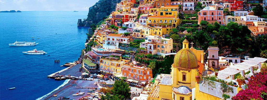Day trip on the Amalfi Coast - Pompeii, Sorrento & Positano 1