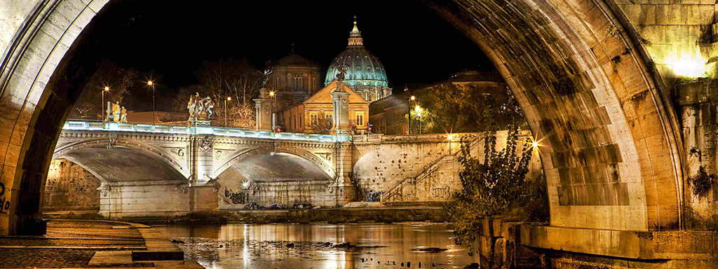 Rome at night 1