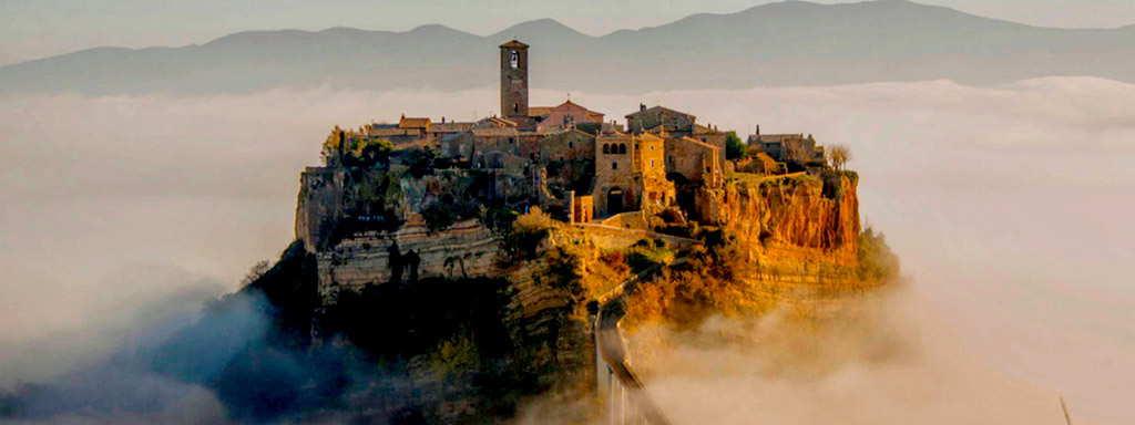 Transfer Rome to Orvieto via Civita 3