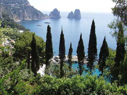 Naples shore excursion - Capri & Pompeii in a day!