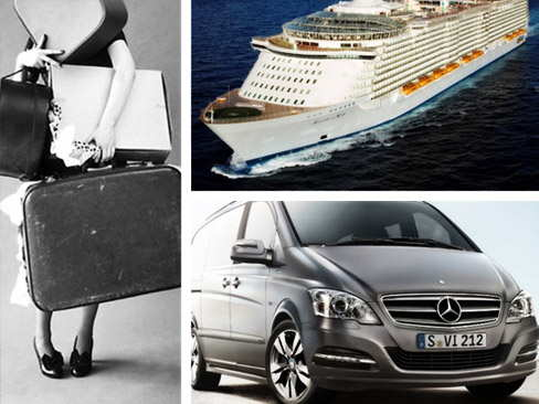 Pick up hotel & transfer to Civitavecchia port