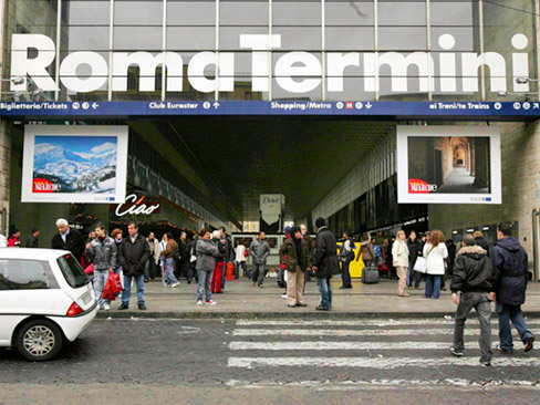 Pick up termini station & transfer to hotel