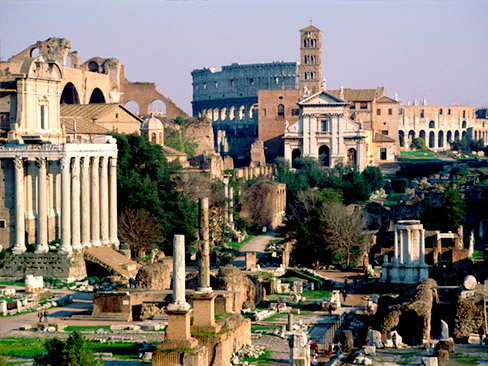Rome & the hilltowns tour