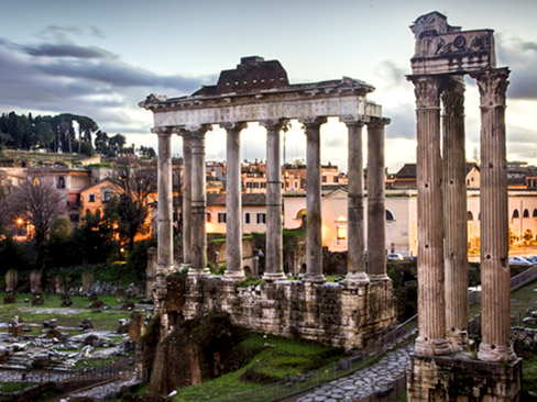 Rome shore excursion - City tour by van + Archeological Rome