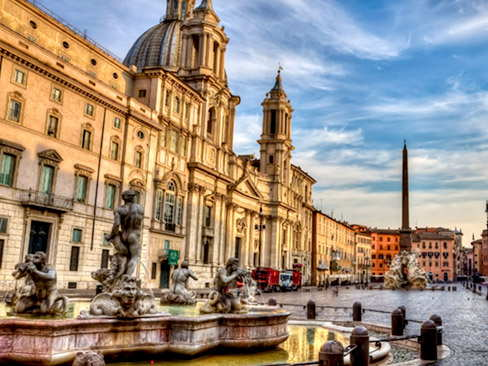 Squares  & fountains of Rome tour
