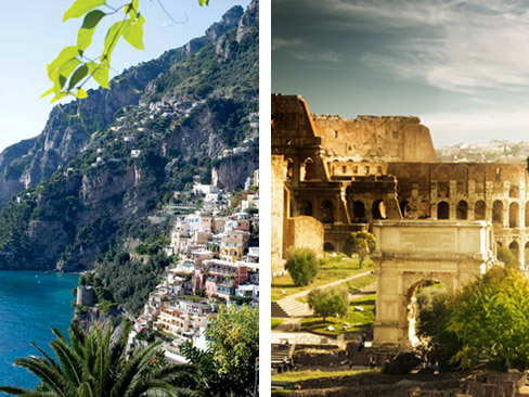 Transfer Positano to Rome