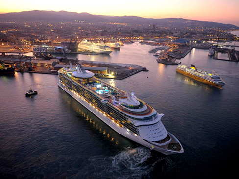 Transfer from hotel to Port of Livorno