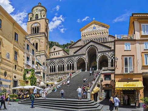 Transfer Rome to Amalfi or Ravello
