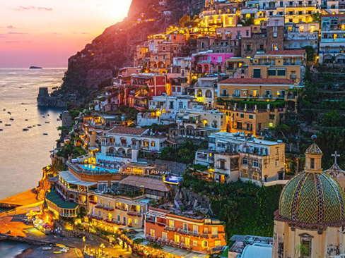 Transfer Rome to Positano