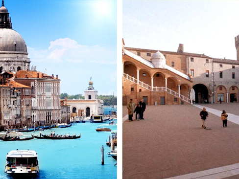 Transfer Venice to Florence via Ferrara